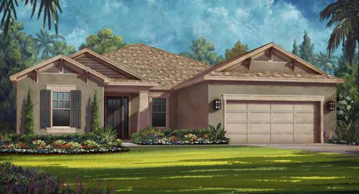 Douglas Model - Arbor Lakes - Palmer Ranch - Sarasota, FL.