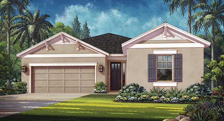 Elmhurst Model - Arbor Lakes - Palmer Ranch - Sarasota, FL.