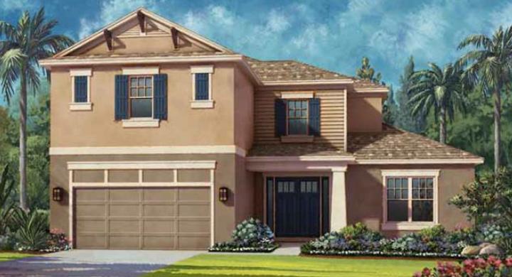 Kentwood Model - Arbor Lakes - Palmer Ranch - Sarasota, FL.