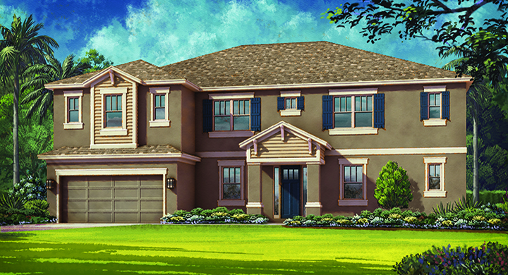 Magellan Model - Arbor Lakes - Palmer Ranch - Sarasota, FL.