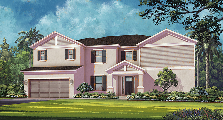 Warren Model - Arbor Lakes - Palmer Ranch - Sarasota, FL.
