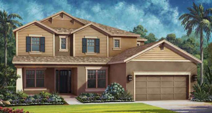 Waverly Model - Arbor Lakes - Palmer Ranch - Sarasota, FL.